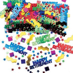 Rocking Retirement Multi Metallic Mix Confetti
