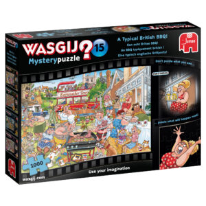 Wasgij Mystery Puzzle - A Typical British BBQ!