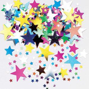 Starburst Multi Colour Metallic Confetti