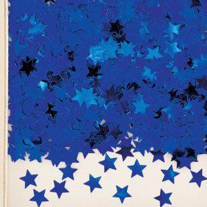 Stardust Blue Metallic Confetti