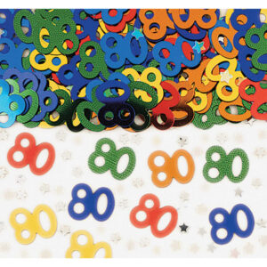 80th confetti