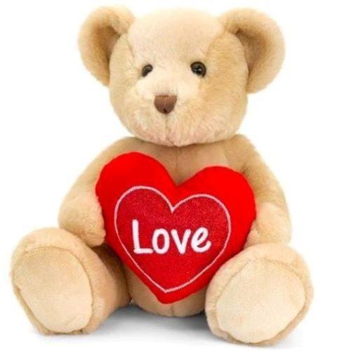 Keel Toys Brown Snuggles Bear