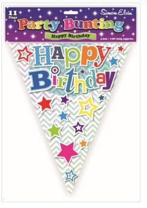 Simon Elvin Happy Birthday Bunting