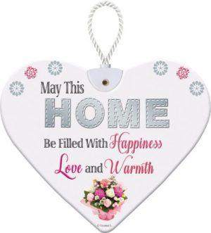 Heartfelt Ceramic Heart - Home