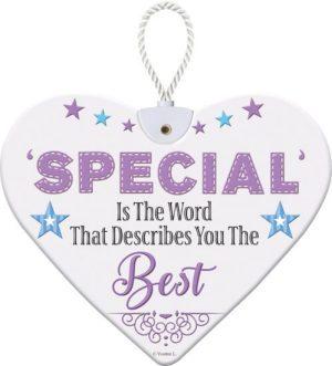Heartfelt Ceramic Heart - Special