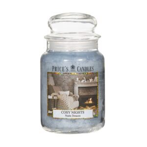 Prices Candles Cosy Night Large Jar