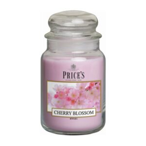 Prices Candles Cherry Blossom Large Jar