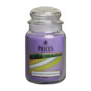 Prices Candles Lavender and Lemongrass Large Jar