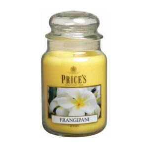 Prices Candles Frangipani Large Jar