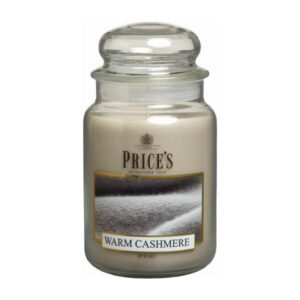 Prices Candles Warm Cashmere Large Jar