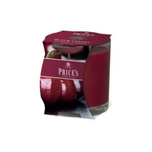 Prices Candles Black Cherry Cluster Jar