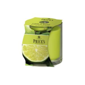 Prices Candles Lime and Basil Cluster Jar