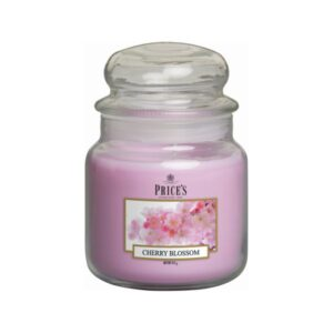 Prices Candles Cherry Blossom Medium Jar