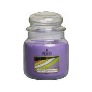 Prices Candles Lavender and Lemongrass Medium Jar