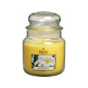 Prices Candles Frangipani Medium Jar
