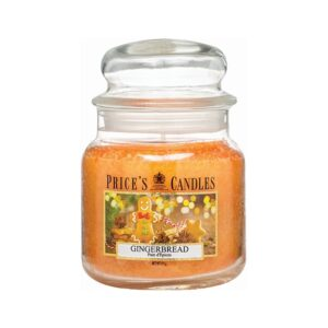 Prices Candle Gingerbread Medium Jar Candle