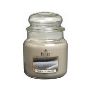 Prices Candles Warm Cashmere Medium Jar