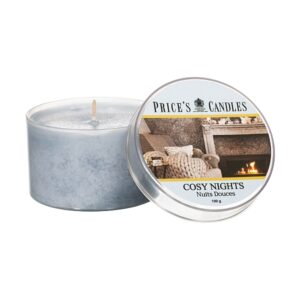 Prices Candles Cosy Nights Tin