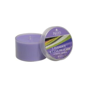 Prices Candles Lavender and Lemongrass Tin