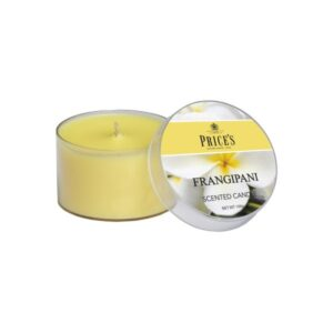 Prices Candles Frangipani Tin