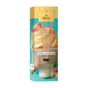 Prices Candles Reed Diffuser Vanilla Cupcake