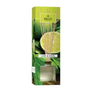 Prices Candles Reed Diffuser Lime & Basil