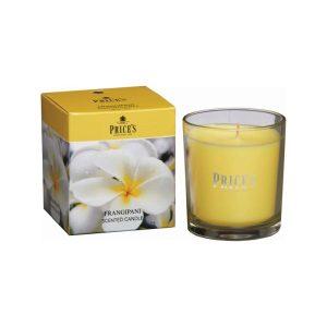 Prices Candles Frangipani Boxed Jar