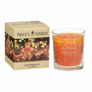 Prices Candles Gingerbread Boxed Jar