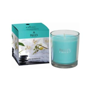 Prices Candles Spa Moments Boxed Jar