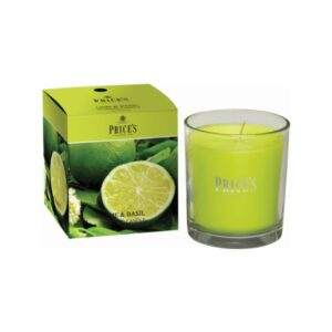 Prices Candles Lime and Basil Boxed Jar
