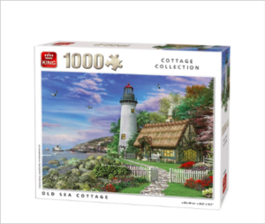 Kings Cottage Collection Old Sea Cottage Puzzle