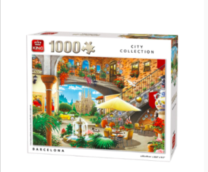 Kings Generic Collection Barcelona Puzzle