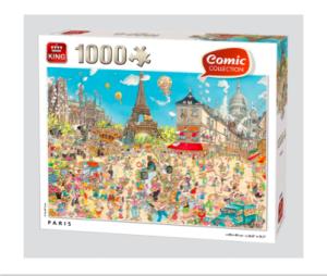 Kings Comic Collection Paris Puzzle