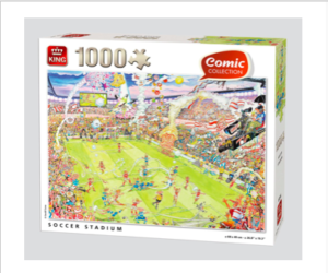 Kings Comic Collection Football Stadium Puzzle
