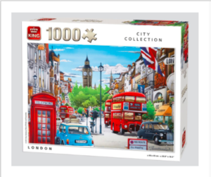 Kings City Collection London Puzzle