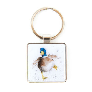 A Waddle and a Quack Keyring