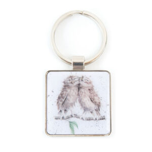 Wrendale Birds of a Feather Keyring