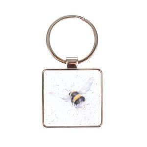 Wrendale Flight of the bumblebee keyring