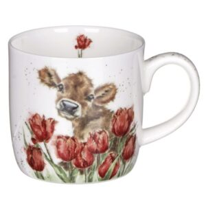 Royal Worcester Wrendale Bessie the Cow Mug